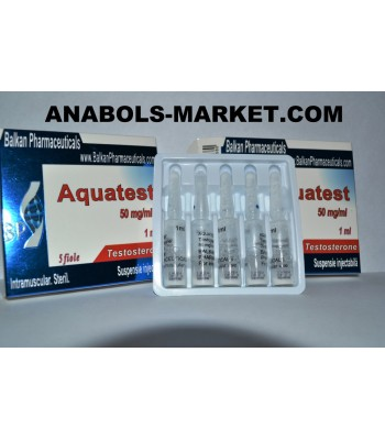 Aqvatest (Testosteron) 100mg/ml 5 amps