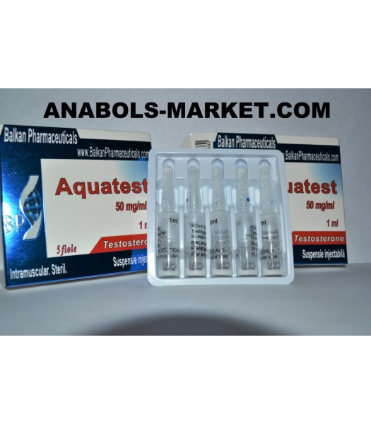 Aqvatest (Testosteron) 100mg/ml 5 amps