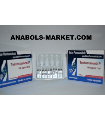 Testosterona P (Testosterone propionate) 100mg/ml 5 amps