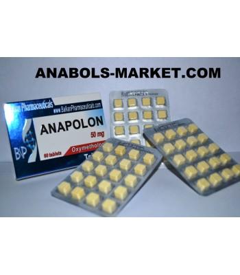 Anapolon (Oximetolon) 50 mg/Tab 60 Tabs