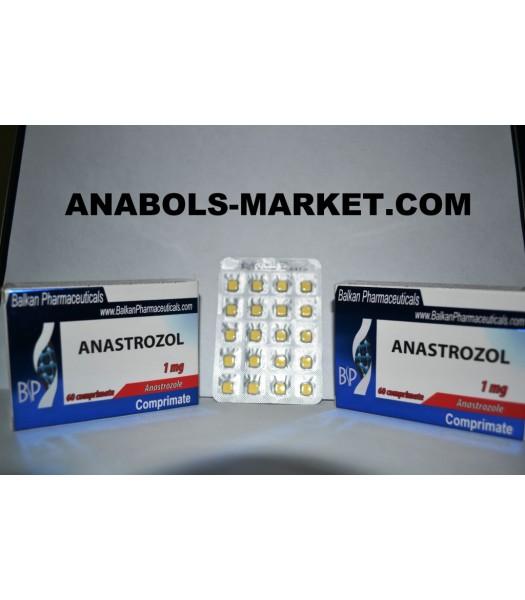 Anastrozol (Anastrozolum) 1mg/Tab 60 Tabs