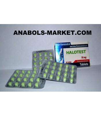 Halotest (Fluoxymestrone) 10mg/Tab 60 Tabs