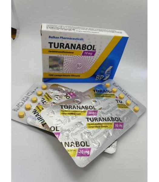 Turanabol ( clordehidrometiltestosterone) 10mg/Tab 25 Tabs