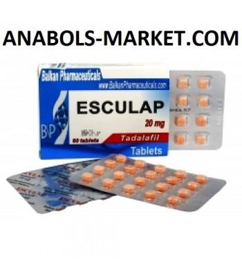 Esculap (Tadalafilum) 20mg/Tab 60 Tabs