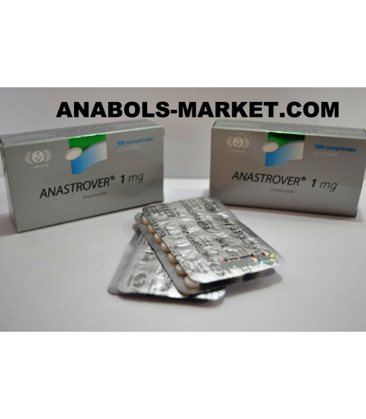ANASTROVER (Anastrozole) 1mg N100 Tabs