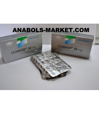 CLOMIVER (Clomiphene Citrate) 50mg N100 Tabs