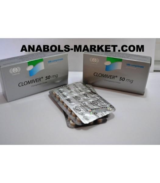 CLOMIVER (Clomiphene Citrate) 50mg N100 Tabs