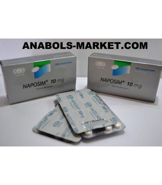 NAPOSIM (Methandienone) 10mg N100 Tabs
