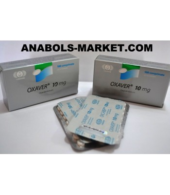 OXAVER (Oxandrolone) 10mg N100 Tabs