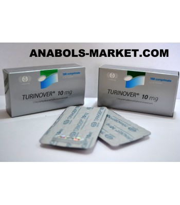 TURINOVER (4-Chlordehydromethyltestosterone) 10mg N100 Tabs