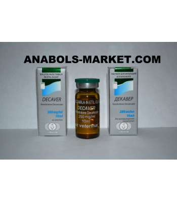 DECAVER (Nandrolone Decanoate) 250mg/ml 10ml Vial