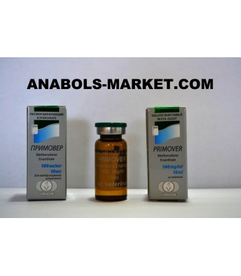 PRIMOVER (Methenolone Enanthate) 100mg/ml 10ml Vial